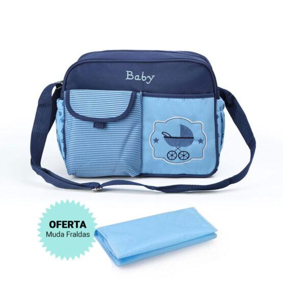Saco Bebé – Carrinho – Azul